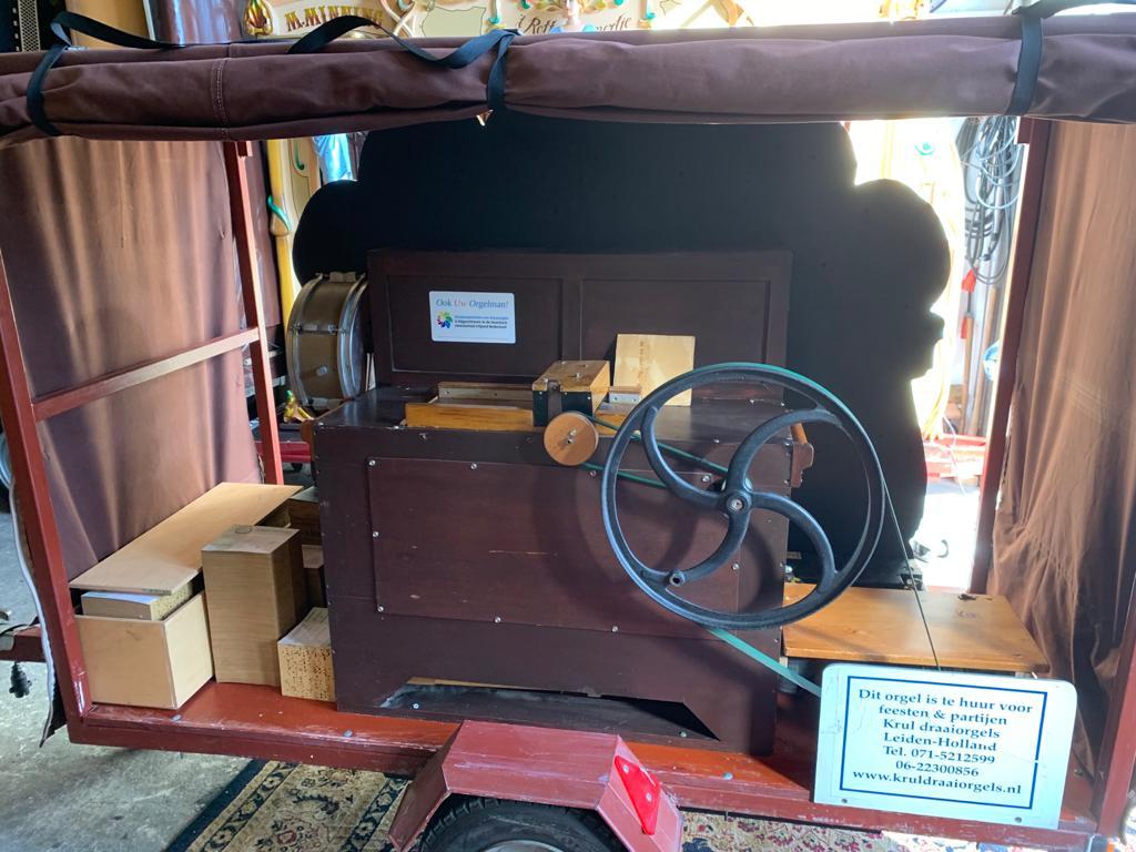 draaiorgel te koop street organ for sale